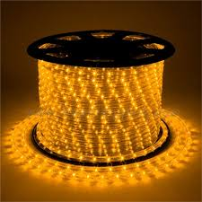 rope light yellow 100 meter 328 foot spool