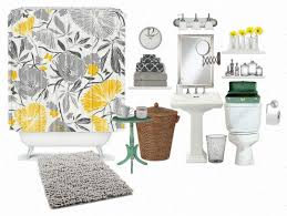 amusing 80 yellow and grey bathroom set inspiration of grey and