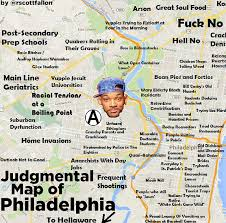 map of philly offensive map is offensive a pink pop up eater philly