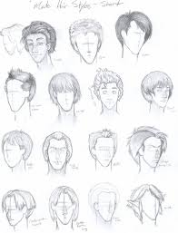 hhort haircut sketches for man male hair styles short by free falling on deviantart