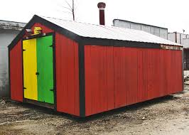 Red Barn Custom Wheels 14x20 Barn