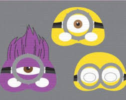 the 25 best minion mask ideas on pinterest minion party favors