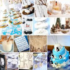 baby shower food ideas for winter baby shower decoration