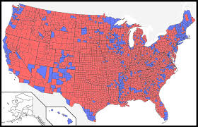 Political Map Us The Bad Map We See Every Presidential Election Youtube Princeton