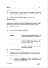 tenancy contract template best resumes