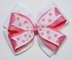 children s hair accessories combination hair bow polka dot childrens kids ribbon