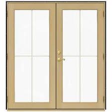 Wooden Sliding Patio Doors Wood Patio Doors Exterior Doors The Home Depot