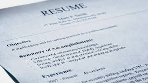Accomplishment Statements For Resume Should You Use A Resume Objective