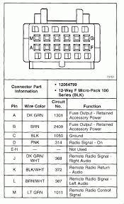 2006 gmc sierra radio wiring diagram wiring diagram simonand