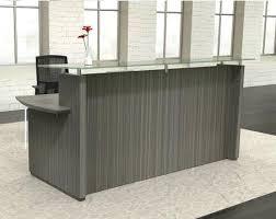 modern reception desk for sale tall reception desk sterling modern reception desk with glass