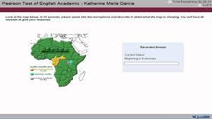 Map Testing Practice Pte Academic English Test Tutorial Speaking 3 Youtube