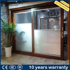 Sliding Door Kitchen Cabinet China Customized German Equipment Hardwares Glass Sliding Door