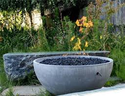 Concrete Firepit Concrete Bowl Pit The Owner Builder Network