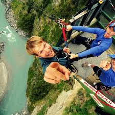 New Zealand Chair Swing Canyon Swing Queenstown New Zealand One Stop Adventurs