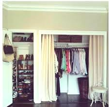 Closet Door Idea Curtains For Closet Doors Panel Curtains Closet Doors Ed Ex Me