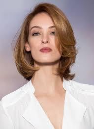 Frisuren Schulterlanges Durchgestuftes Haar by Best 25 Schulterlange Haare Locken Ideas On