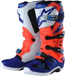 red dirt bike boots alpinestars tld tech 7 boots motocross dirtbike ebay