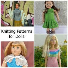 10 knitting patterns for dolls of all sizes