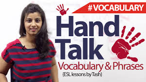talk phrases and vocabulary related to