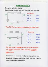 component series and parallel circuits diagrams science in the