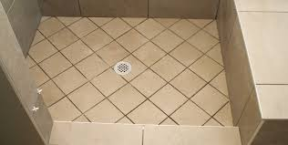 shower how to tile a shower floor without a pan supporting tile