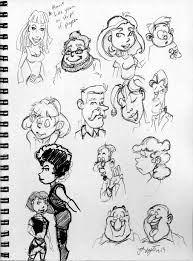 cartoon characters sketches by joe5art on deviantart