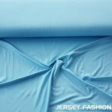 light blue jersey fabric uni fabric light blue remnant piece 135cm