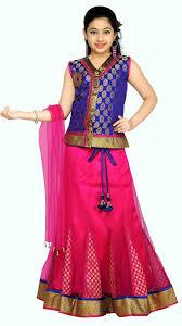 buy aarika blue lehenga choli size 15 16 years online at low
