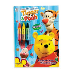 winnie pooh coloring book crayons u2013 party express