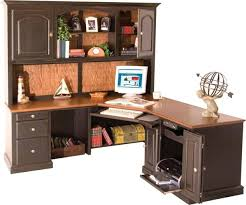 Office Desk With Hutch Storage Wonderful Office Furniture Officemax Black Desk With Hutch