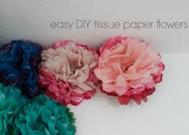tissue paper flowers c patton tissue paper flower tutorial