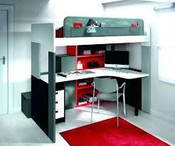 bureau superposé lit superpose avec bureau lit superpose pour ado mezzanine bureau