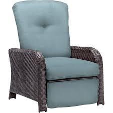 strathmere luxury recliner in ocean blue strathrecblu