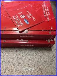 mustang maintenance repairs ltd 2007 ford mustang service shop repair workshop manual set w towing