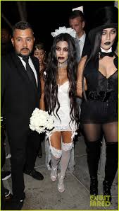 kourtney kardashian u0026 scott disick dress up for halloween 2016