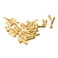 aliexpress buy hot gold plated 5mm 3 5mm tungsten online shop jfbl hot 20 pairs 3 5 mm gold plated banana plugs