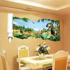 Kids Dinosaur Room Decor Dinosaur Room Decor Ebay