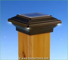 lighting solar light post caps 6x6 veranda solar lantern post