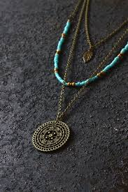 boho necklace set images Boho necklace layered necklace hippie necklace mandala necklace jpg