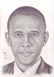 saatchi art drawing of president barack obama by serge e vitry