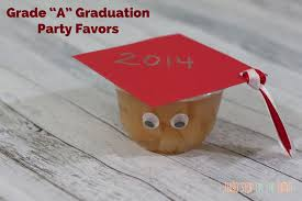 high school graduation favors allergy free fruit cup graduation party favors