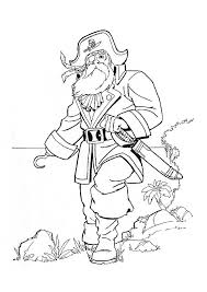 kids under 7 pirates coloring pages