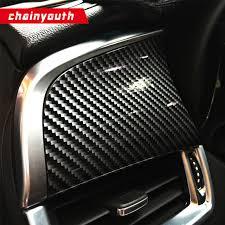 Car Interior Carbon Fiber Vinyl Auto 5d Carbon Fiber Sticker Car Interior Sticker Foil Plating