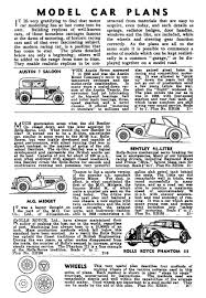 car plans modelcraft magazine and list the brighton toy and model index