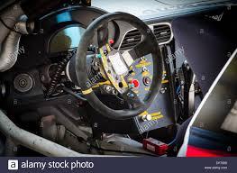 porsche 911 inside inside a porsche 911 gt3 cup series car stock photo royalty free