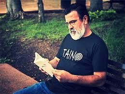 anacakuyani arts u2014 taino spiral t shirt w white letters