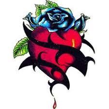 blue heart tattoo buscar con google tattoo u003c3 pinterest
