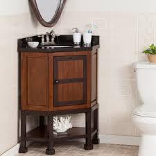 Corner Cabinet Bathroom Vanity by Corner Bathroom Vanities You U0027ll Love Wayfair