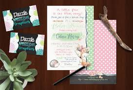 ddg baby shower invitations custom invitations announcements