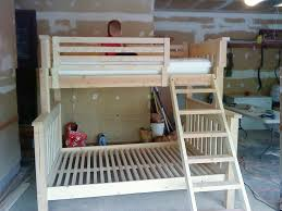 Build A Bunk Bed With Trundle by Bunk Beds Free 2x4 Bunk Bed Plans Double Size Loft Bed Canada